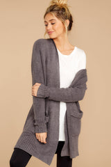 6 CozyChic Lite® Ash Long Weekend Cardi at reddressboutique.com