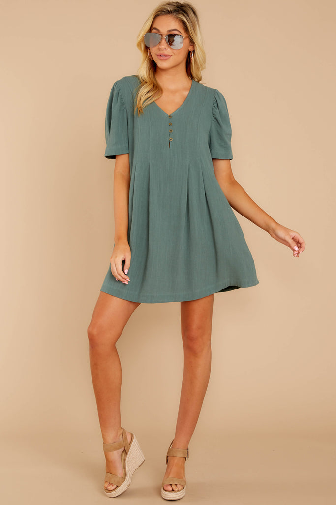 1 Well Balanced Jade Green Dress at reddressboutique.com
