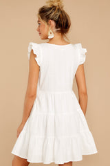 Daringly Me White Dress
