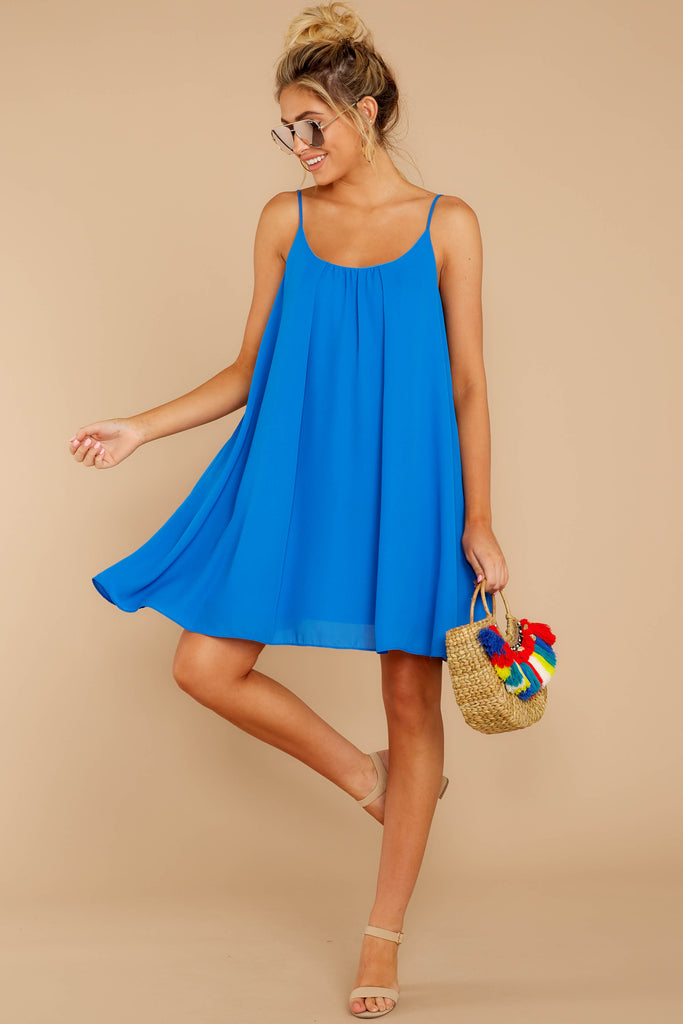 1 Waiting Dockside Regatta Blue Dress at reddressboutique.com