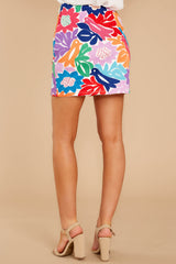 5 In A Twitter White Embroidered Skirt at reddress.com