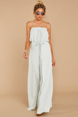 2 International Traveler Pastel Mint Jumpsuit at reddress.com