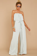 5 International Traveler Pastel Mint Jumpsuit at reddress.com