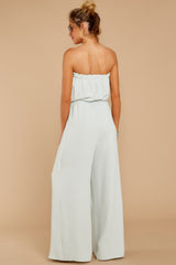 6 International Traveler Pastel Mint Jumpsuit at reddress.com