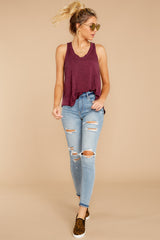 6 The Mauve Wine Vagabond Tank at reddressboutique.com