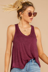 2 The Mauve Wine Vagabond Tank at reddressboutique.com