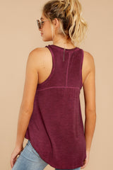 7 The Mauve Wine Vagabond Tank at reddressboutique.com