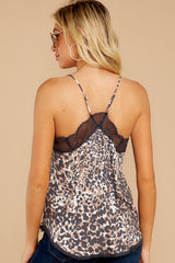 7 Slip Into This Brown Leopard Print Tank Top at reddressboutique.com