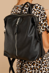 5 Taking Sides Black Backpack at reddressboutique.com