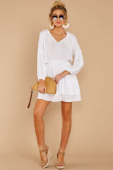 3 Somewhere New White Dress at reddressboutique.com