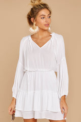 4 Somewhere New White Dress at reddressboutique.com