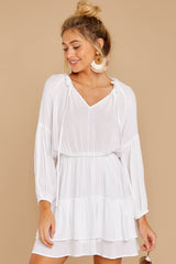 5 Somewhere New White Dress at reddressboutique.com