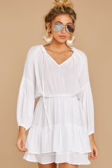6 Somewhere New White Dress at reddressboutique.com