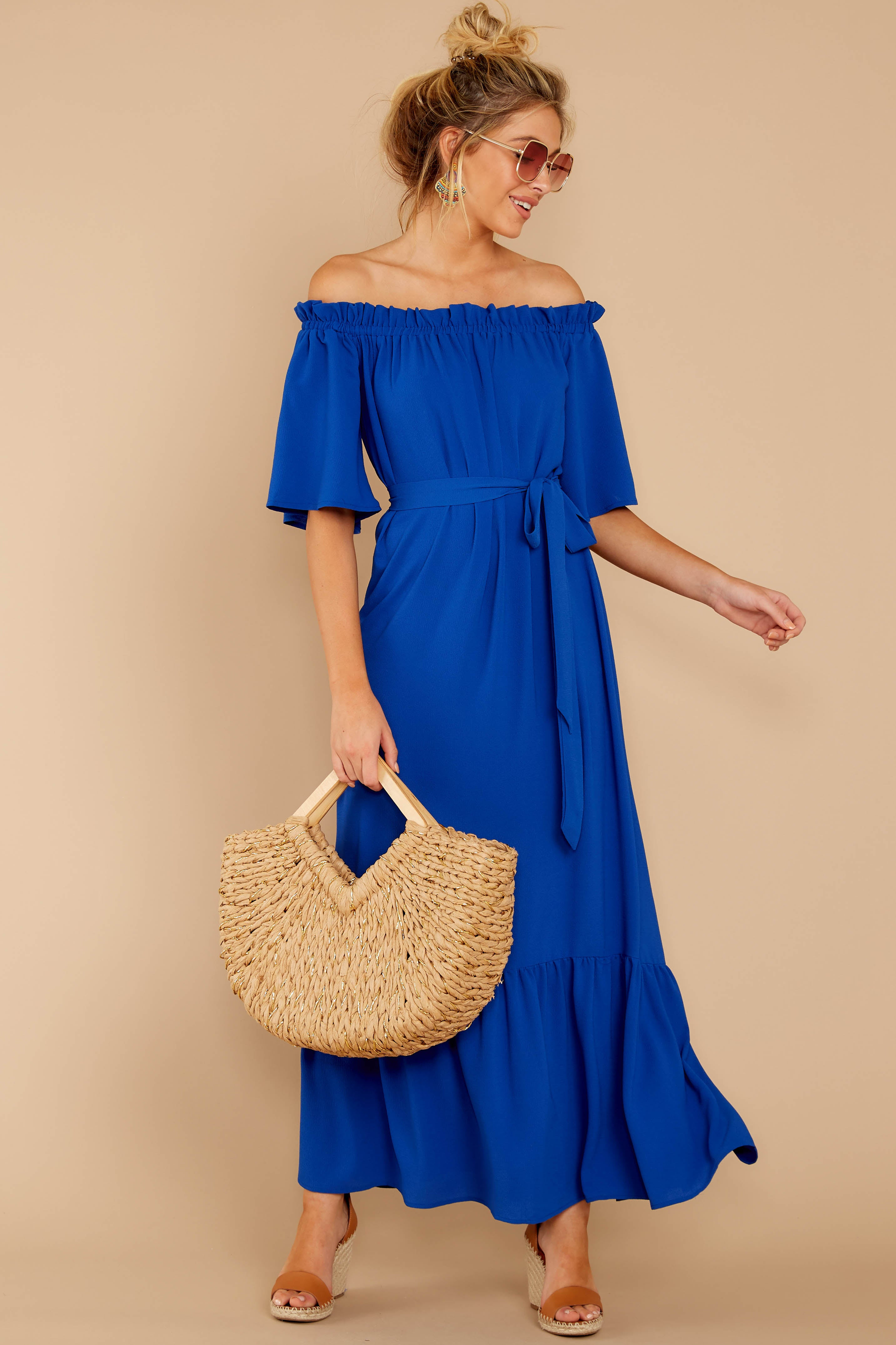 2 And Tonight Royal Blue Maxi Dress at reddressboutique.com