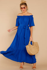 1 And Tonight Royal Blue Maxi Dress at reddressboutique.com