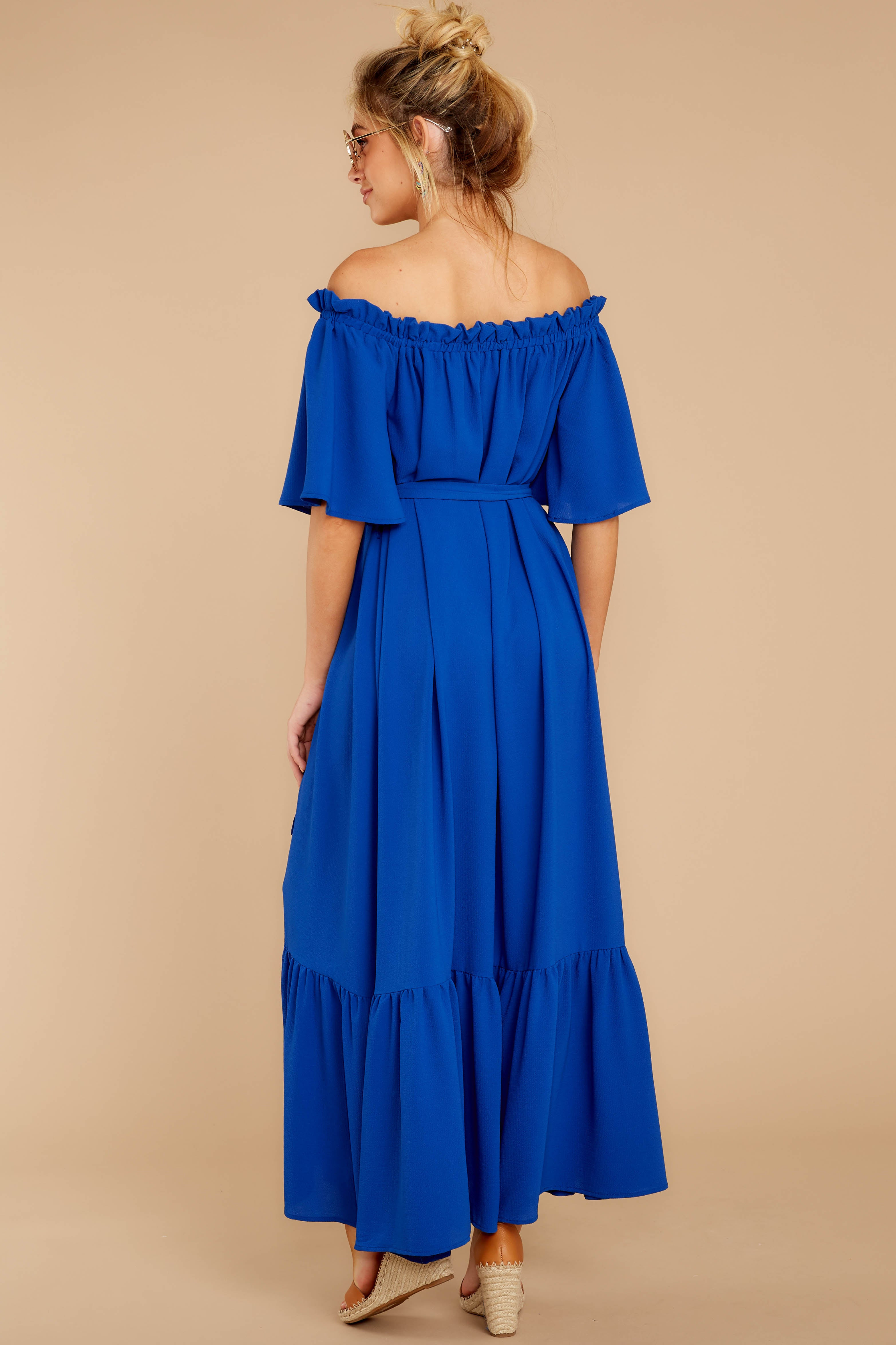 7 And Tonight Royal Blue Maxi Dress at reddressboutique.com