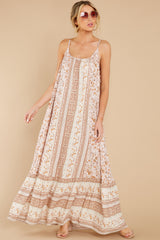 4 Let Your Guard Down Rose Multi Print Maxi Dress at reddress.com