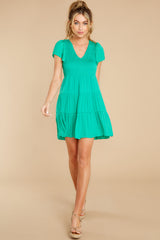 3 End Of The Night Jade Green Dress at reddress.com
