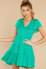 1 End Of The Night Jade Green Dress at reddress.com