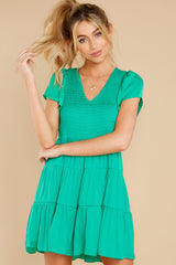 5 End Of The Night Jade Green Dress at reddress.com