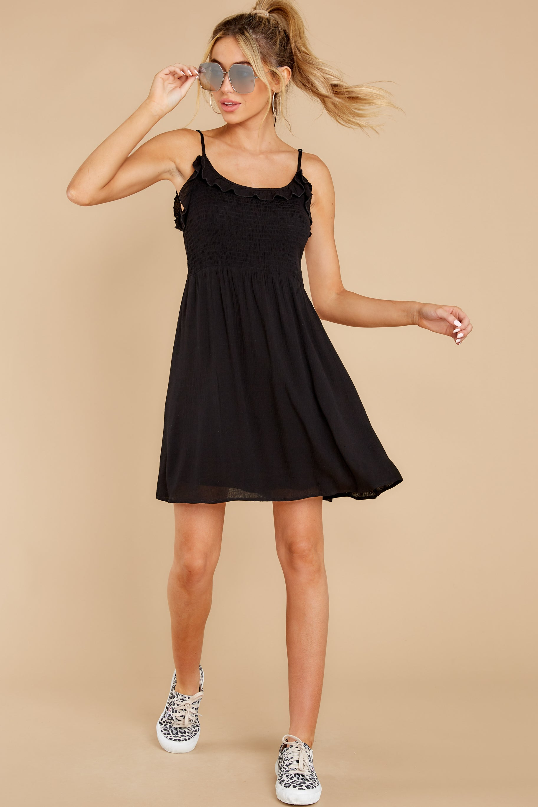 5 As You Are Black Dress at reddress.com