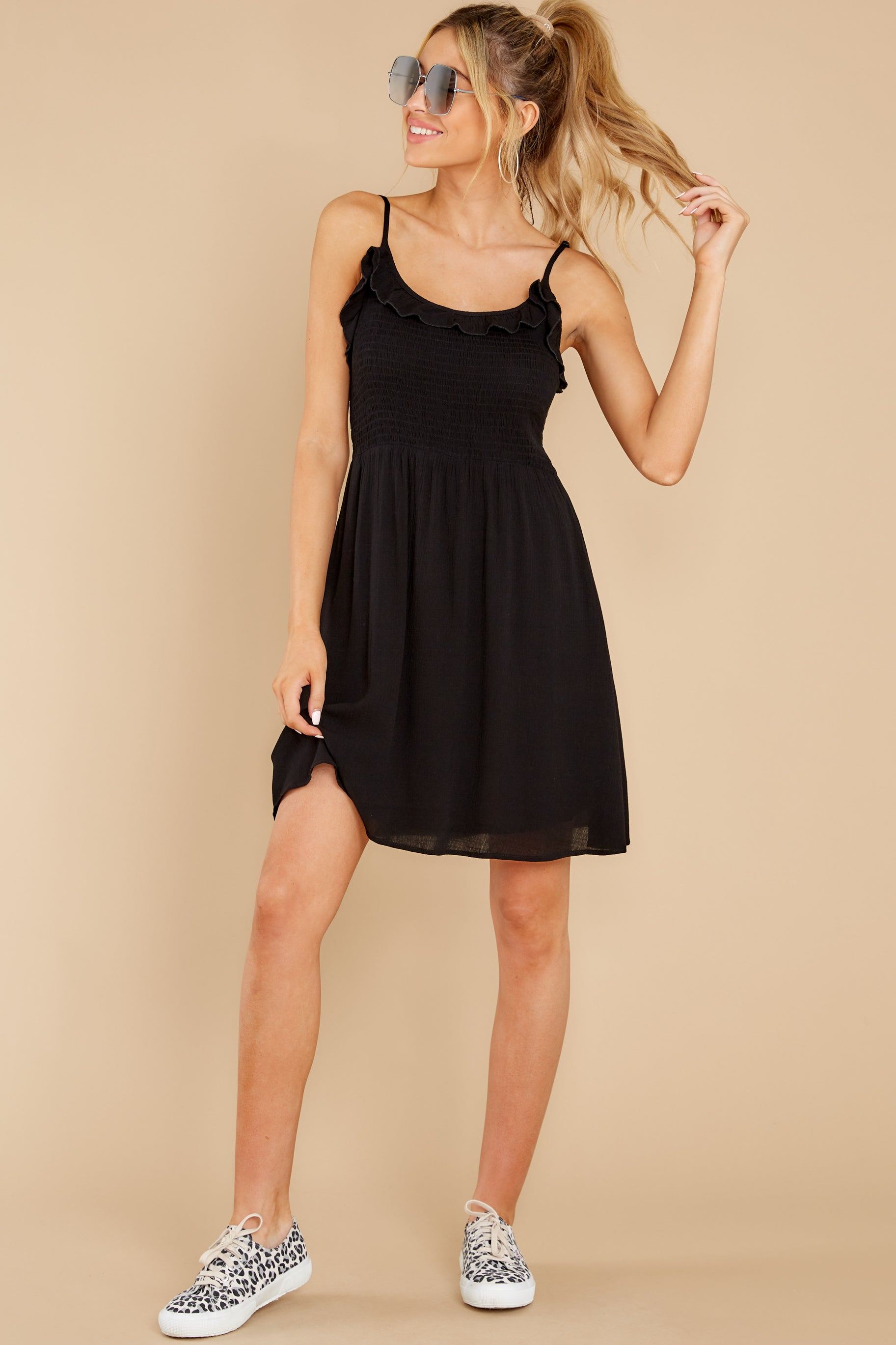3 As You Are Black Dress at reddress.com