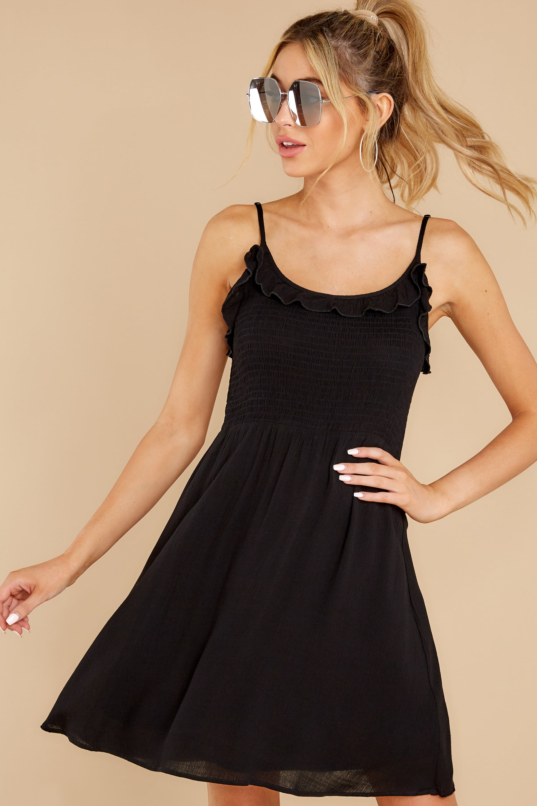 6 As You Are Black Dress at reddress.com