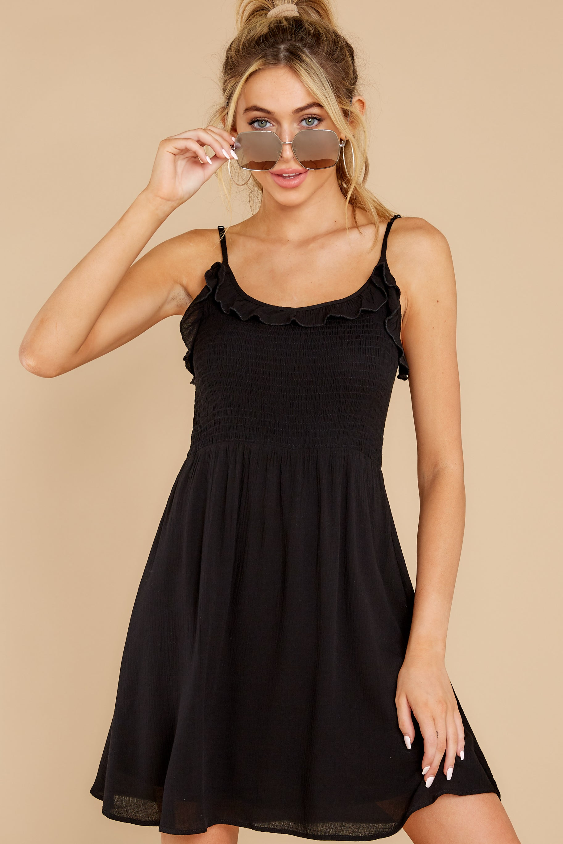 2 As You Are Black Dress at reddress.com