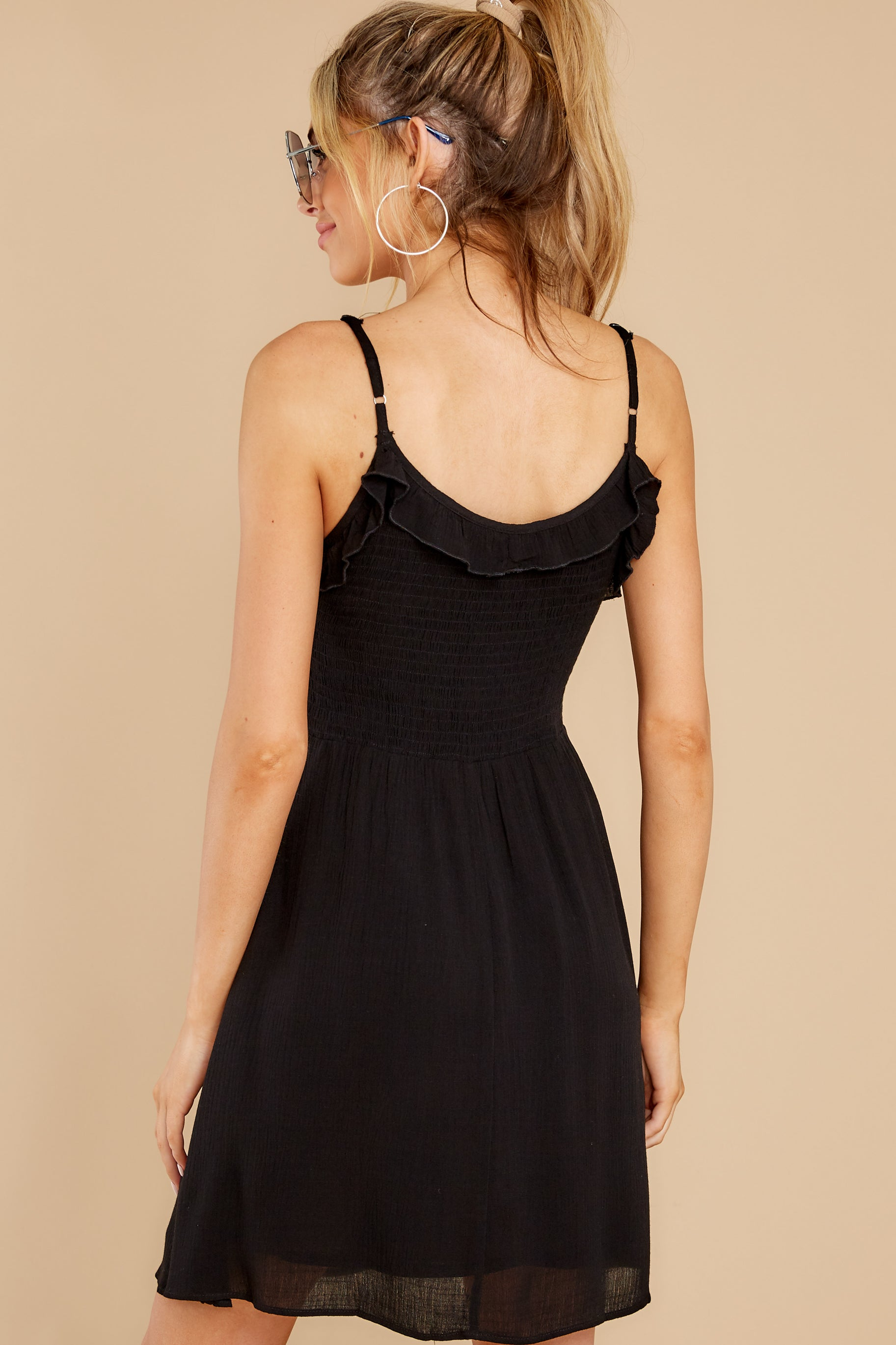 4 As You Are Black Dress at reddress.com