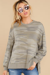 6 Modern Light Sage Camo Weekender at reddress.com