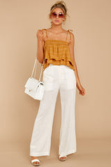 4 Influential Style White Pants at reddressboutique.com