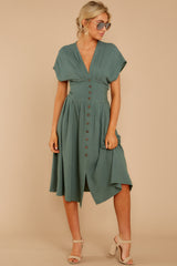 4 Well Balanced Jade Green Dress at reddressboutique.com