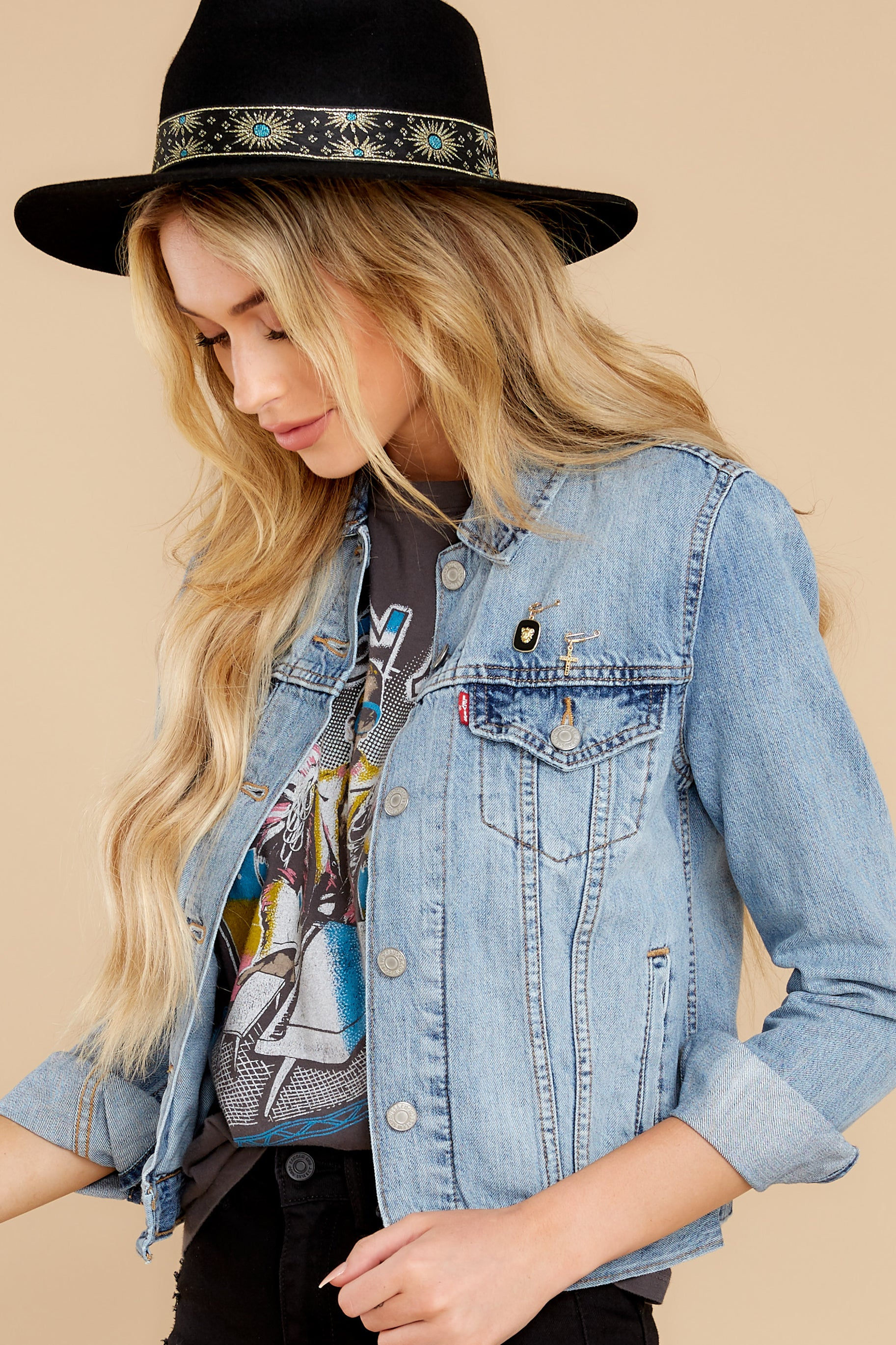 3 Original Trucker Jacket in All Yours at reddress.com
