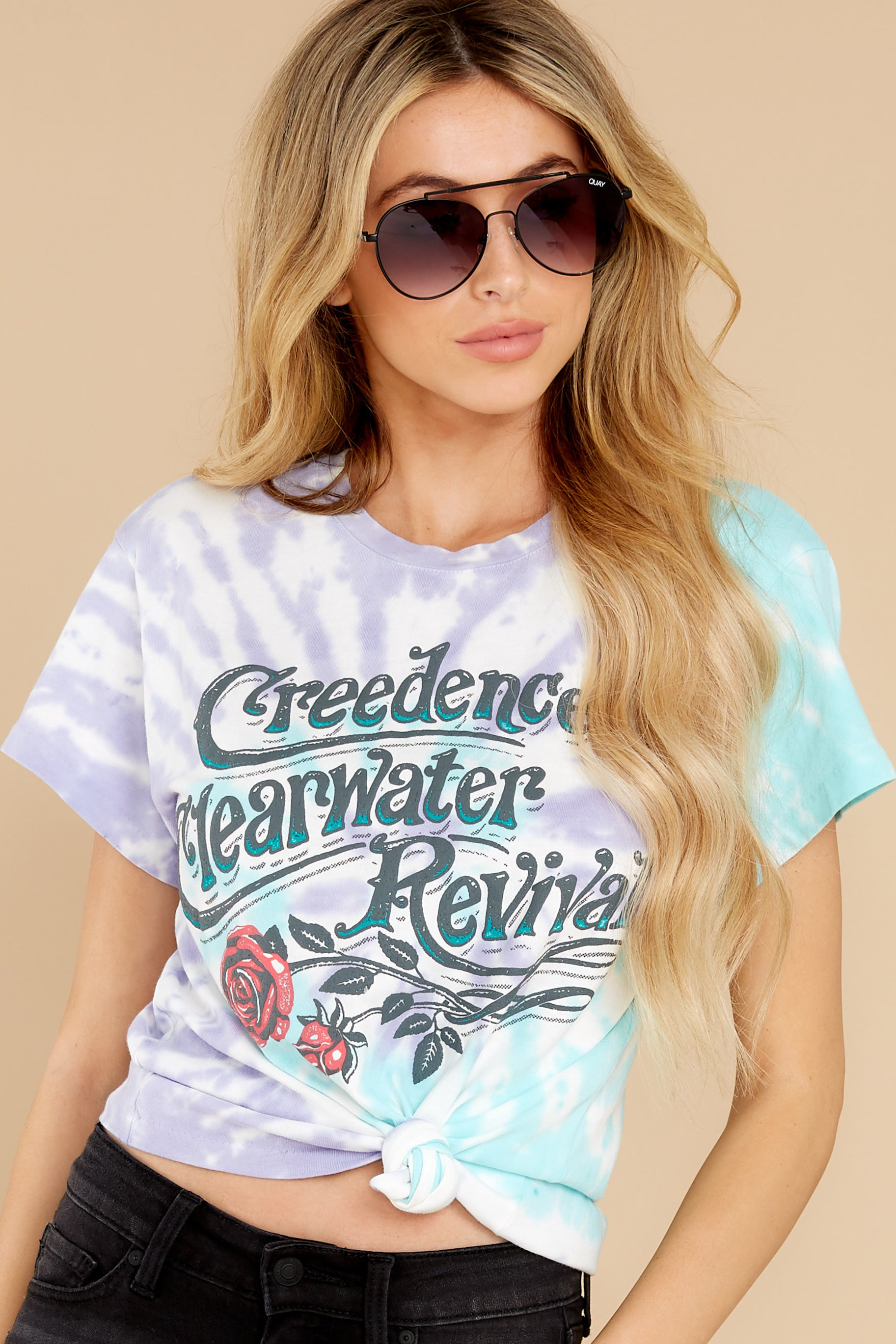 3 Creedence Clearwater Revival Rollin' On The River Tour Tee at reddress.com