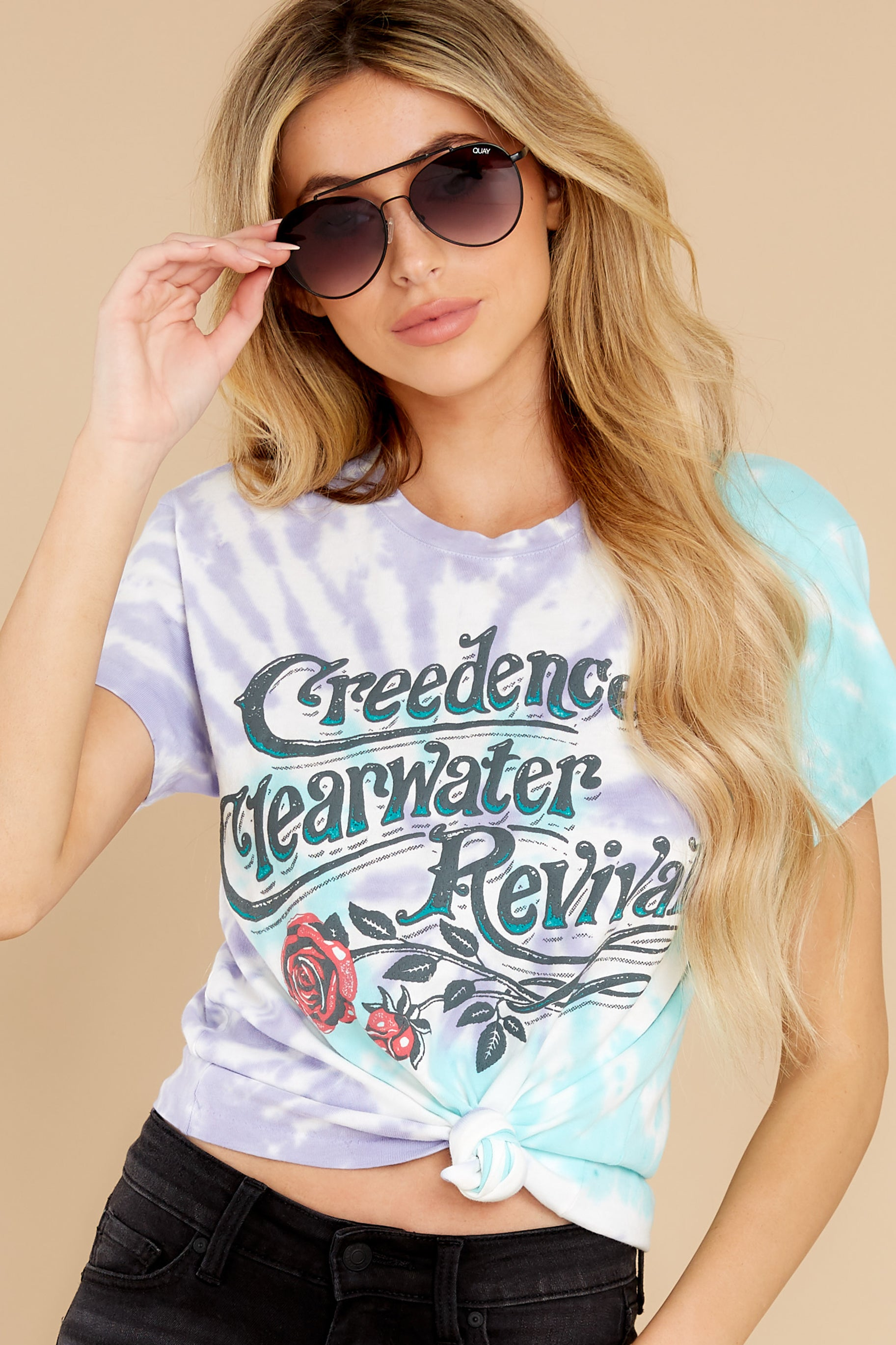 4 Creedence Clearwater Revival Rollin' On The River Tour Tee at reddress.com