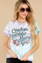 5 Creedence Clearwater Revival Rollin' On The River Tour Tee at reddress.com