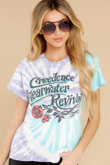 6 Creedence Clearwater Revival Rollin' On The River Tour Tee at reddress.com