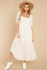 9 Long Way Around Ivory Maxi Dress at reddress.com