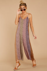 6 Casually Chic Violet Multi Floral Print Jumpsuit at reddress.com