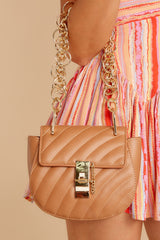 4 Goes With It All Brown Purse at reddressboutique.com