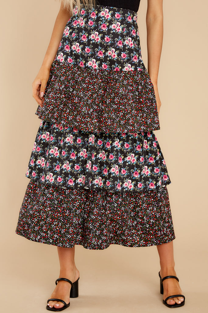 1 Lana Tiered Midi Skirt at reddress.com