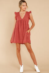 4 Keep A Secret Brick Romper Dress at reddress.com