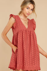 1 Keep A Secret Brick Romper Dress at reddress.com