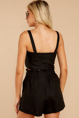 9 Out On A Lark Black Two Piece Set at reddress.com