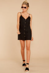 2 Never Wait Black Dress at reddress.com