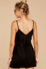 11 Never Wait Black Dress at reddress.com