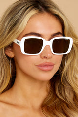 1 20's White Sunglasses at reddress.com