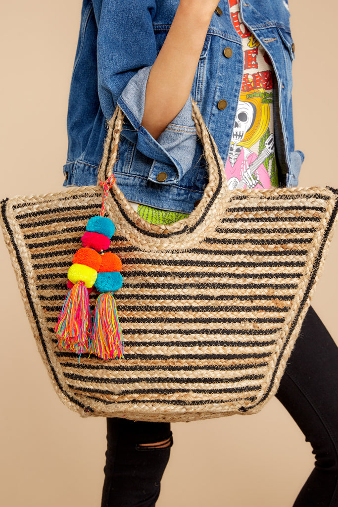1 What A World Rainbow Tote at reddressboutique.com