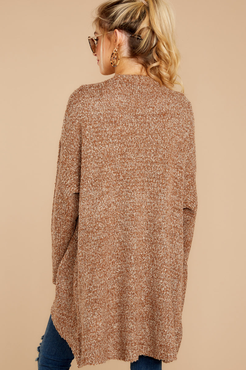 6 Moments With You Brown Cardigan at reddressboutique.com