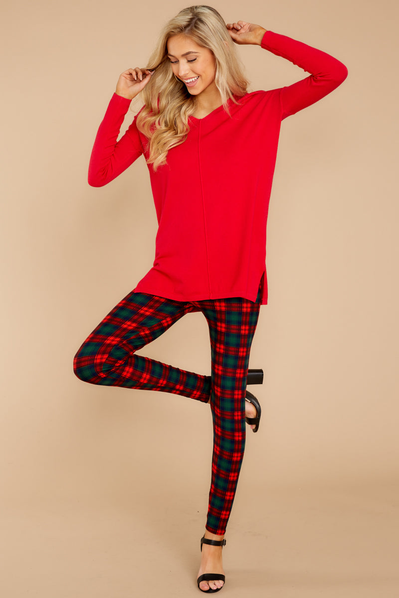 7 Give It A Rest Bright Red Sweater @ reddress.com
